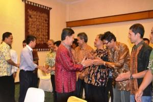Rapat Evaluasi Pengelolaan Logistik Pemilu Tahun 2014 . Foto:Humas Pemda